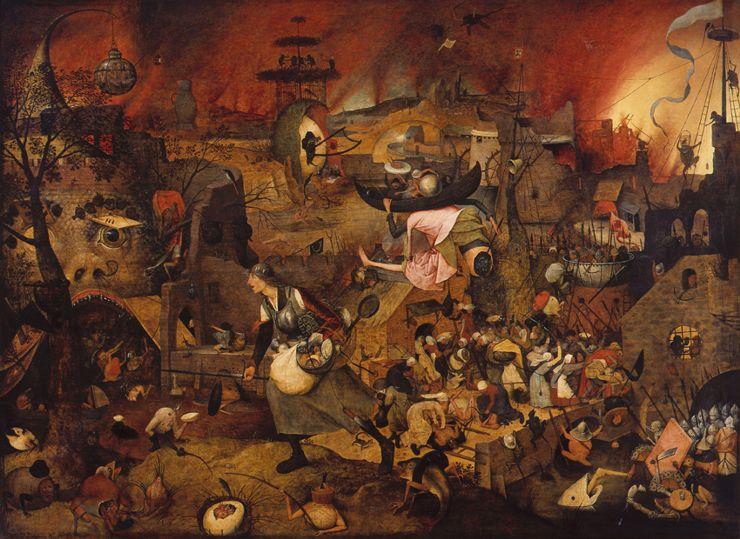 Mag meg, Pieter Bruegel the Elder