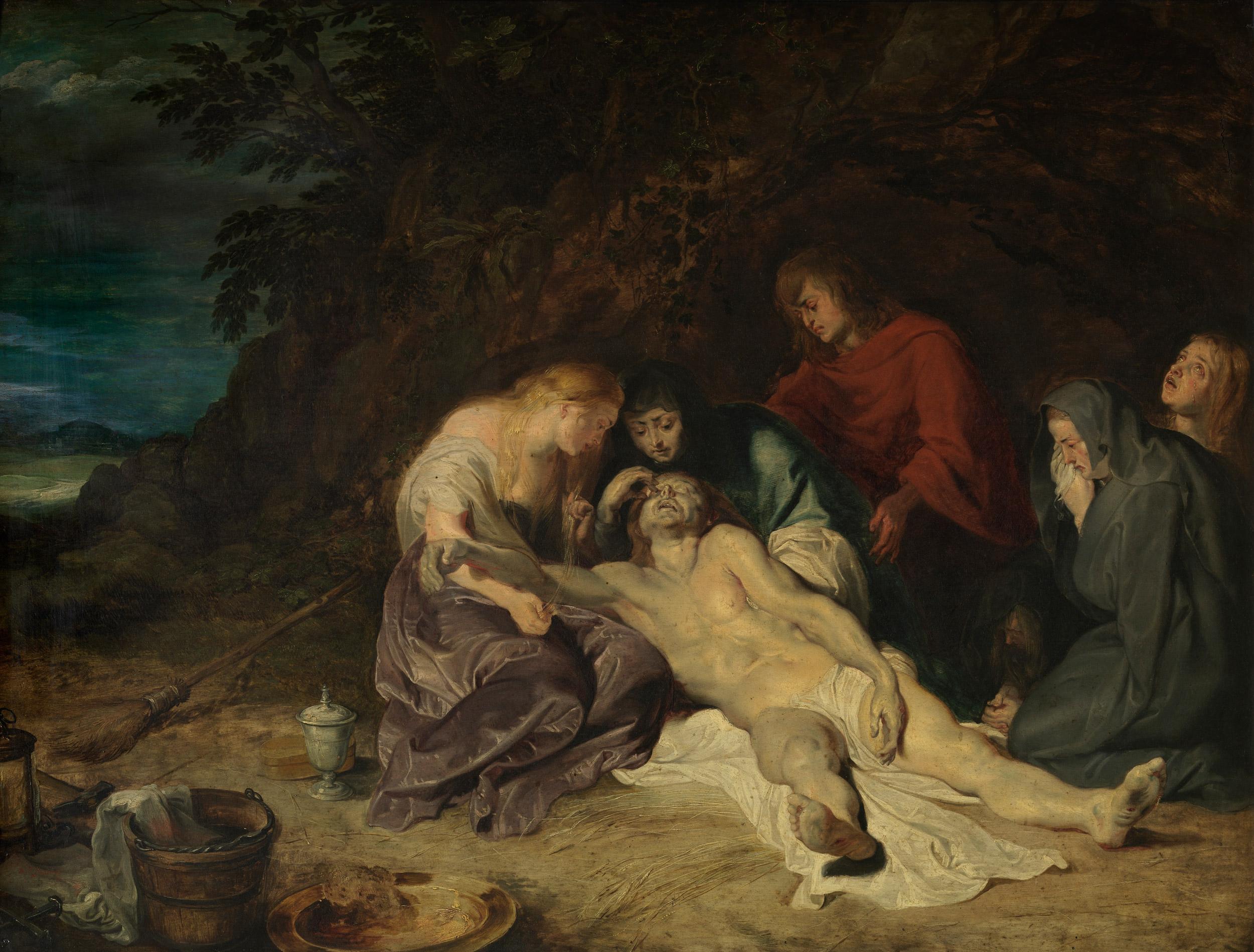 Peter Paul Rubens, Bewening van Christus, foto Hugo Maertens, Collectie KMSKA - Vlaamse Gemeenschap