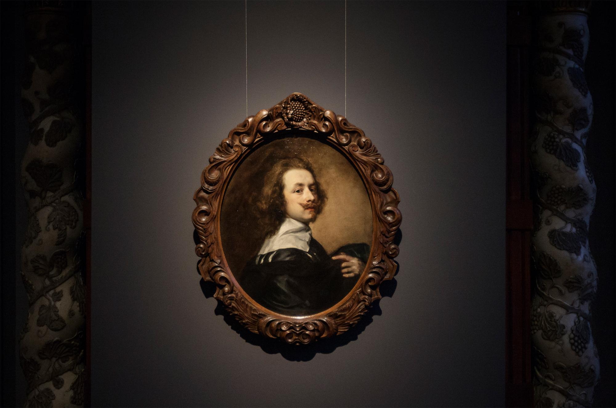 Selbstporträt von Anthony van Dyck