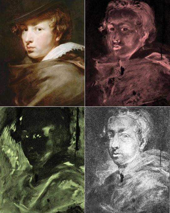 scans zelfportret